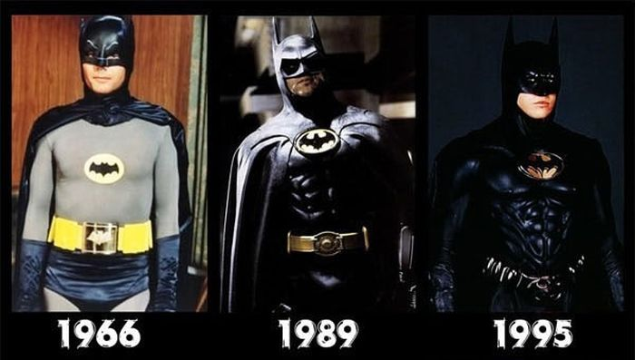 Movie Characters Then and Now (8 pics)