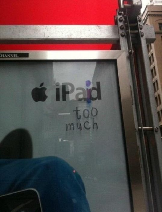 Smartass Acts Of Vandalism (20 pics)