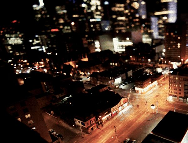 Cities at Night (12 gifs)