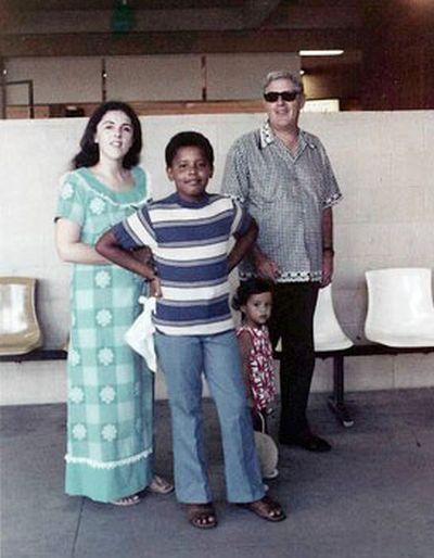 Baby Barack Obama (29 pics)