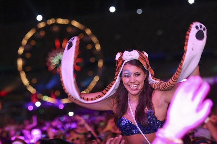 Girls from Electric Daisy Carnival 2012 (70 pics)