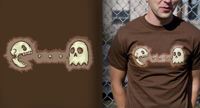 Gaming T-shirts (57 pics)
