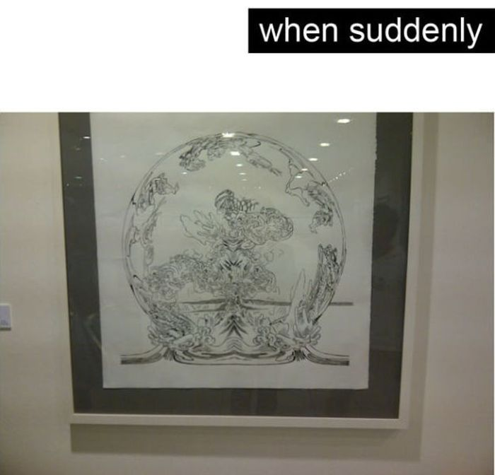 When Fine Art Trolls You (12 pics)