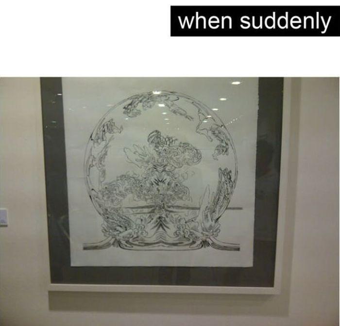 When Fine Art Trolls You (12 pics)