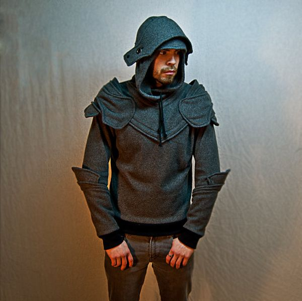 Armored Hoodie (5 pics)
