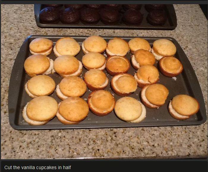 Hamburger Cupcakes! (12 pics)