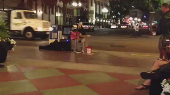 Awesome Street Musician in San Diego