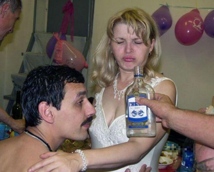 Drunk Brides (25 pics)