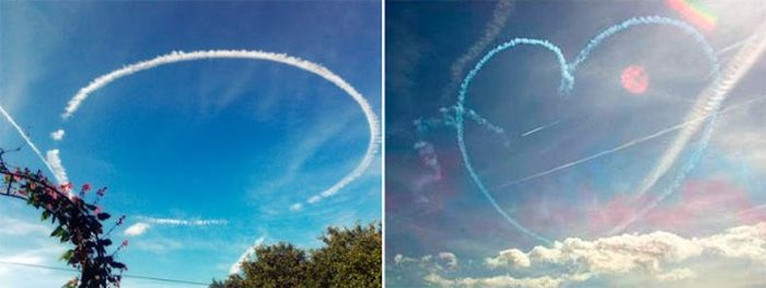 Vapour Trails and Cones Created by Planes (20 pics)