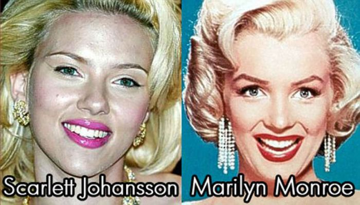 Celebs of Today Who Look Similar to the Stars of the Past (11 pics)