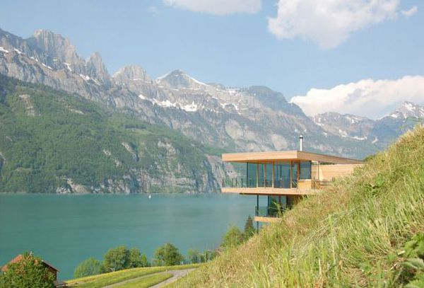 The Most Amazing Lake Houses (125 pics)