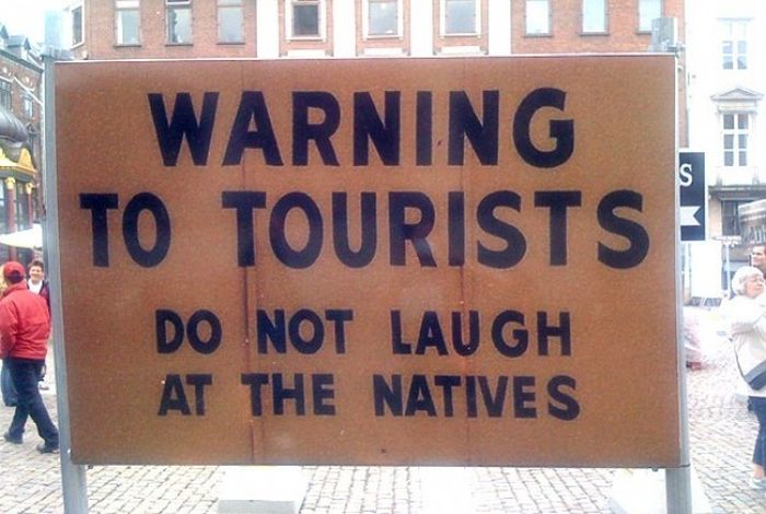 Funny Road Signs. Part 2 (30 pics)