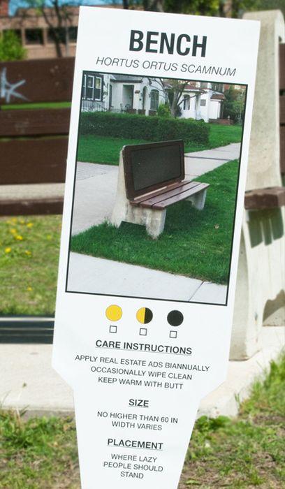 Urban Plant Tags (12 pics)