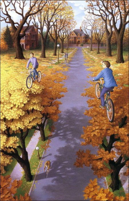 Amazing Surrealistic Paintings by Rob Gonsalves (32 pics)