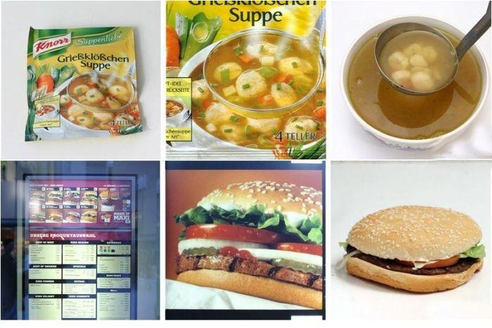 Ads vs. Reality (6 pics)