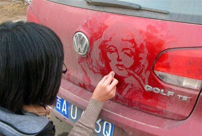 Car Drawing (4 pics)