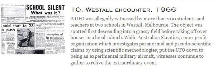 Famous UFO Sightings (23 pics)