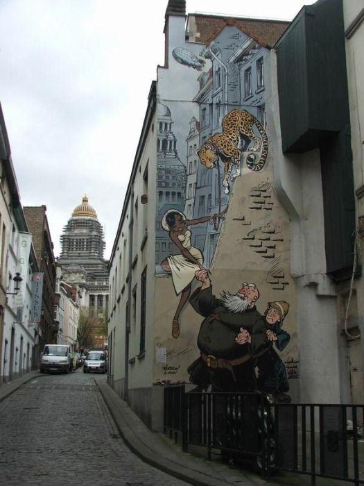 Wall Art in Belgium (40 pics)