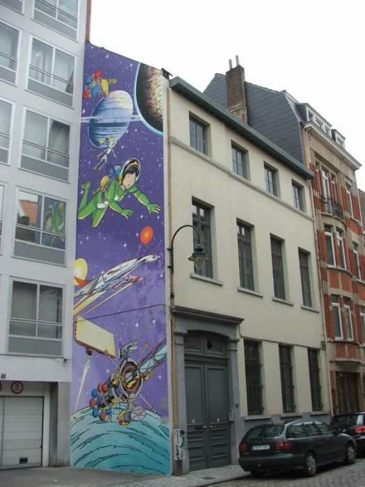 Wall Art in Belgium (40 pics)