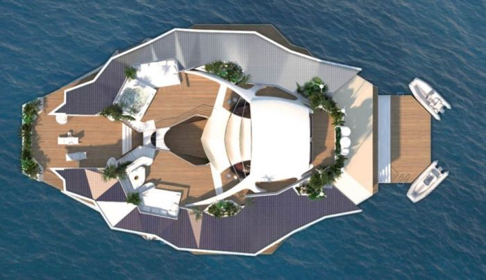 Orsos Islands - Moveable Floating Island (28 pics)