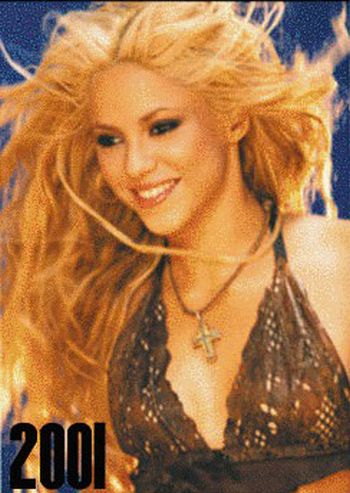 Shakira's Aging Timeline (27 pics)
