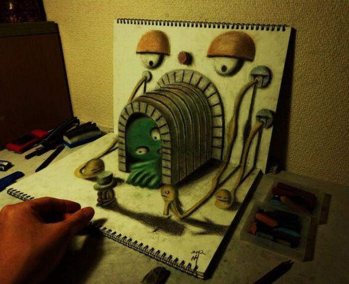 3D Drawings (15 pics)