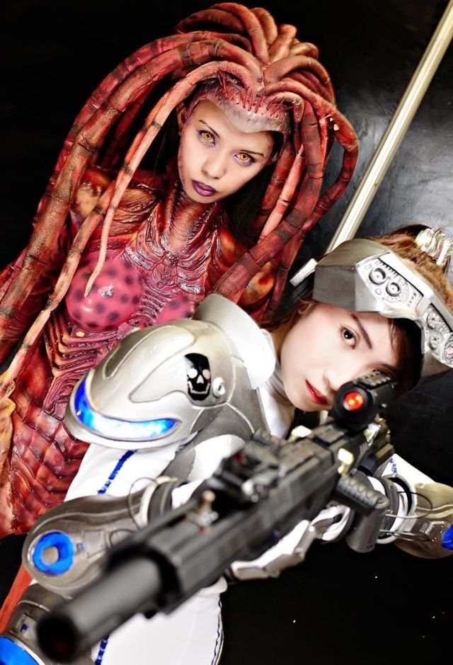 Awesome StarCraft 2 and Diablo III Cosplay (73 pics)