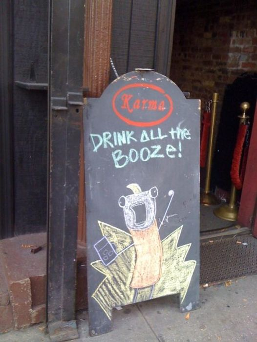 Awesome Chalkboard Signs (30 pics)