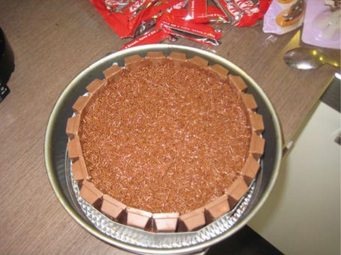 Graduation Pie for the Girlfriend (5 pics)