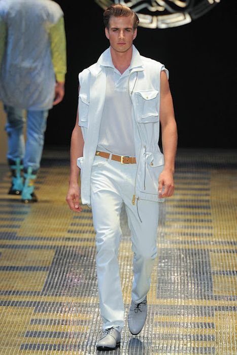 Versace S/S 2013 Collection at Milan Fashion Week (25 pics)