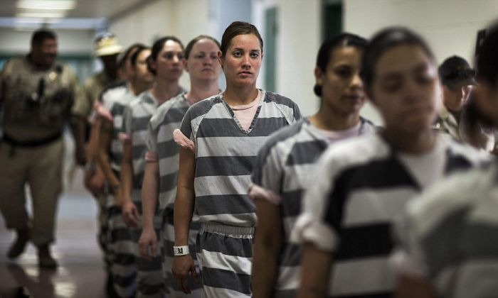 America's Only All-female Chain Gang in Arizona (20 pics)