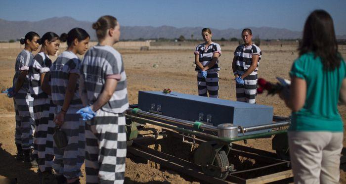 America's Only All-female Chain Gang in Arizona (20 pics)