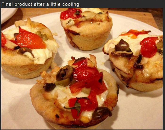 Pizza Cupcakes (6 pics)
