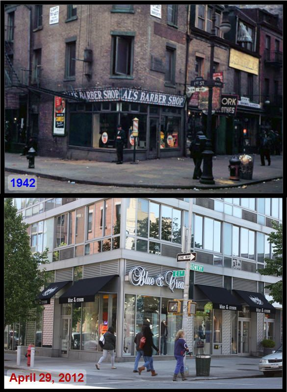 NYC Corners Then And Now (10 pics)
