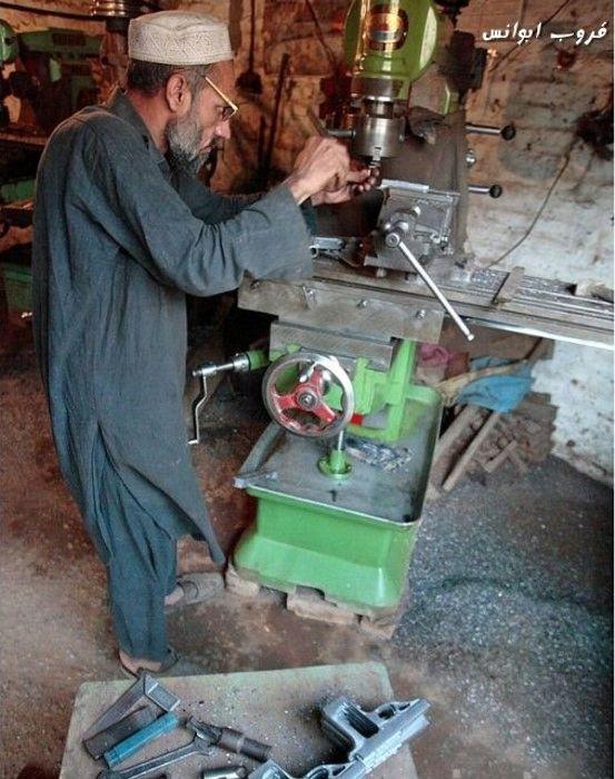 Pakistani Gun Manufacture (22 pics)