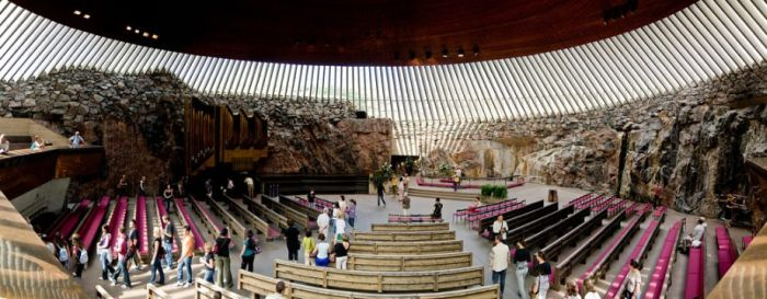 Church Built in a Giant Piece of Granite (12 pics)