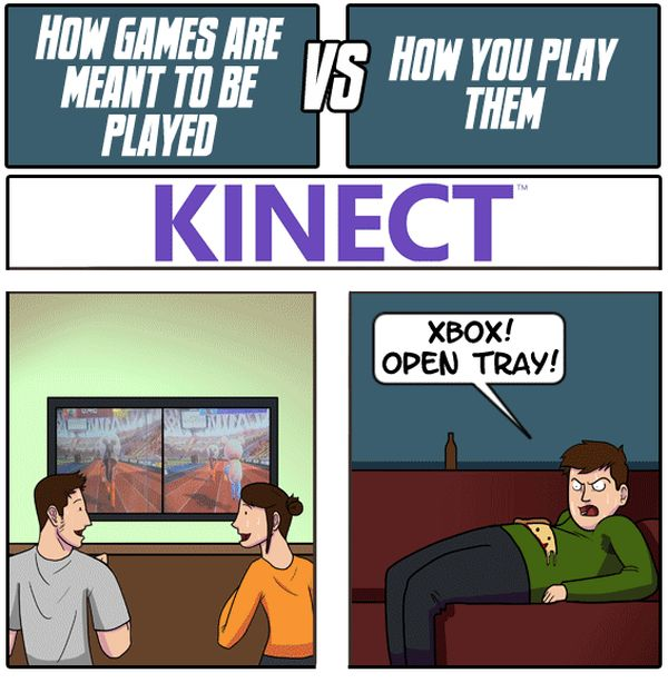 How Games Are Meant To Be Played vs. How You Play Them (5 pics)