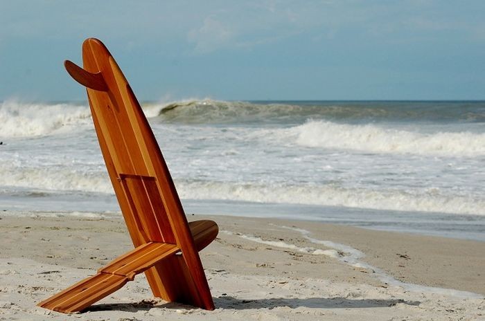 Surfboard Chairs (4 pics)