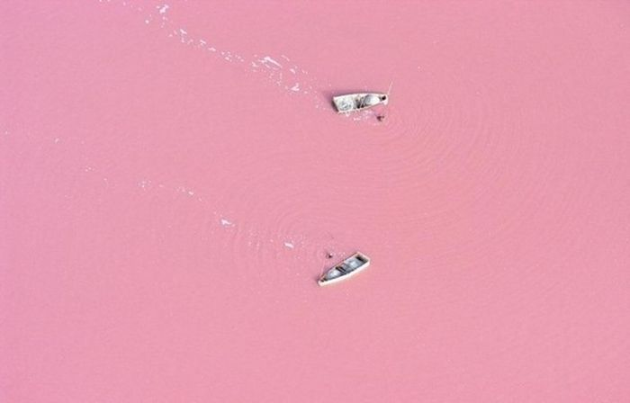 Lake Retba, Senegal's Pink Lake (7 pics)
