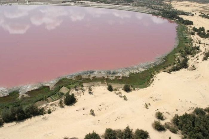 Lake Retba, Senegal's Pink Lake (7 pics)