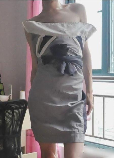 Sport Jacket Dress (4 pics)
