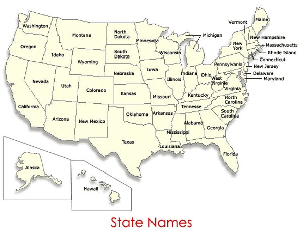 How States Got Their Names (50 pics)