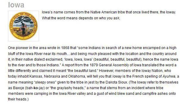 How States Got Their Names (50 pics)