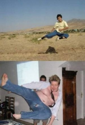 Thin vs Thick (17 pics)