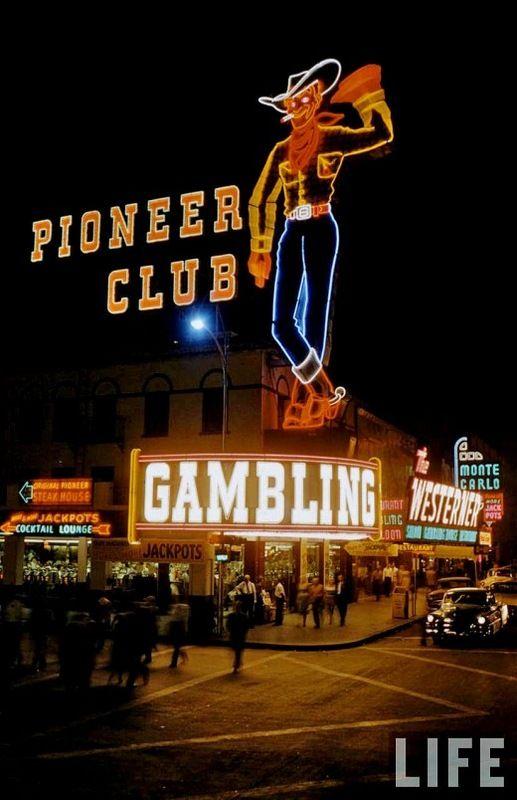 Las Vegas in 1955 (13 pics)
