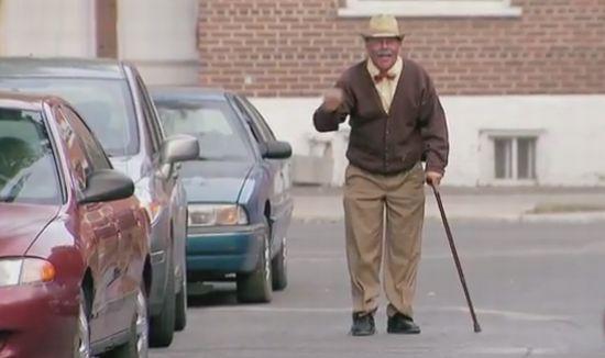 Hilarious Old Man Drifter Prank