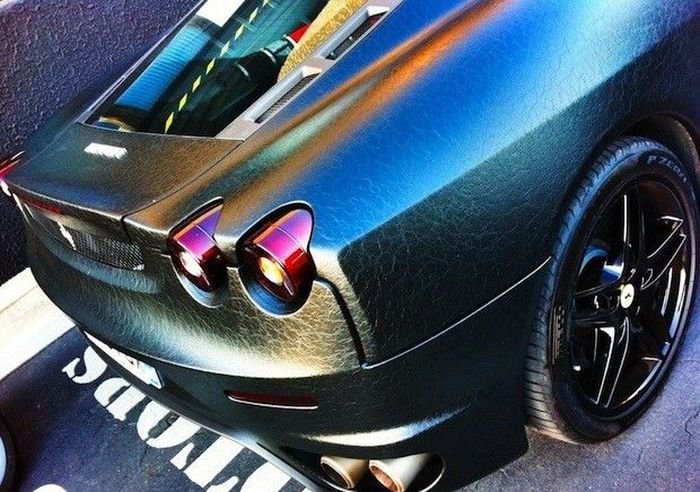 Ferrari F430 in Leather (7 pics)