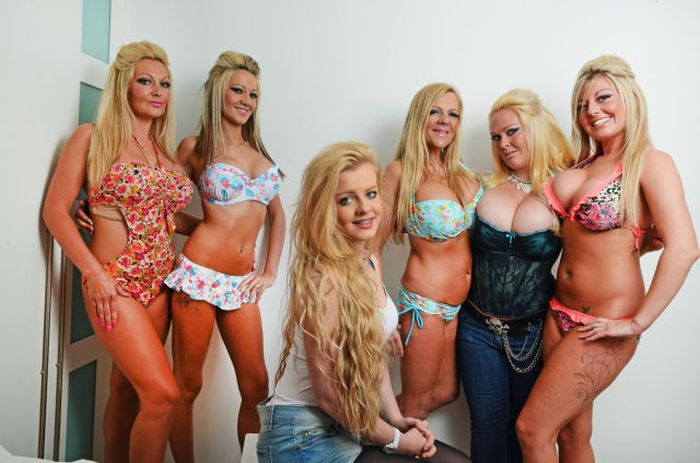 They All Have Brest Implants (12 pics)