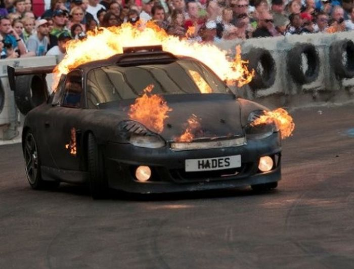 Sport Cars on Fire (45 pics)