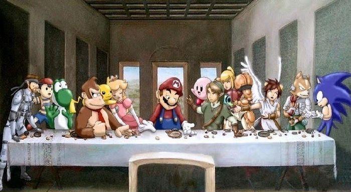 The Best Alternatives of Da Vinci's The Last Supper (26 pics)